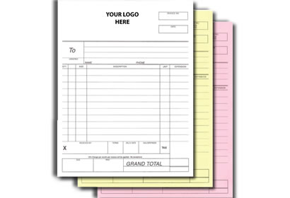 Forms, Packing Slips and Invoices