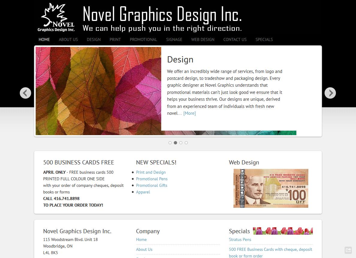 Novel Graphics Design Inc.