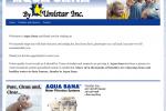 Aqua Sana Web Design