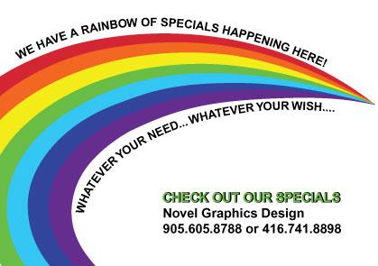 Rainbow Specials